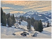 some peace in the mountains /January 2020